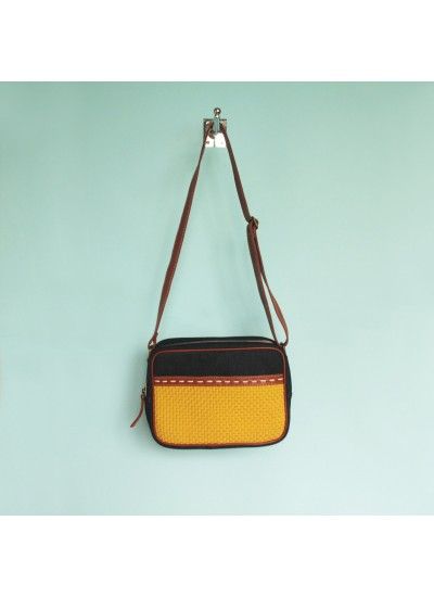 Alyssandra Crossbody Bag Mosterd