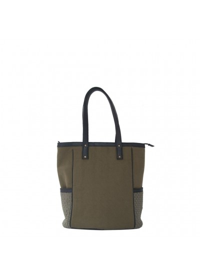 Ivy Zip Tote Fatigue