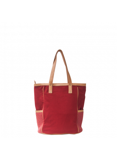 Ivy Zip Tote Red - SOLD OUT!