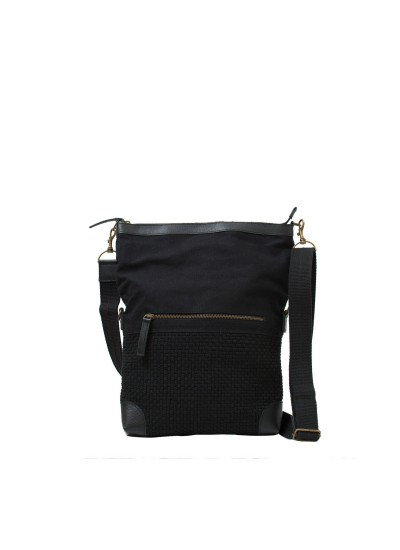 Jake Messenger Bag Black