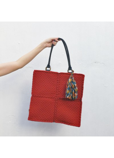 Jane Carry-All Tote Burnt Orange