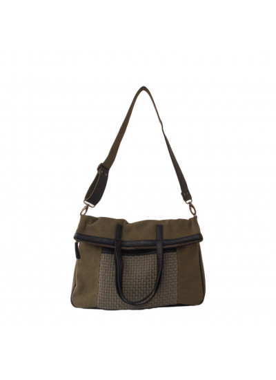 SAGE FOLDOVER CROSSBODY BAG FATIGUE