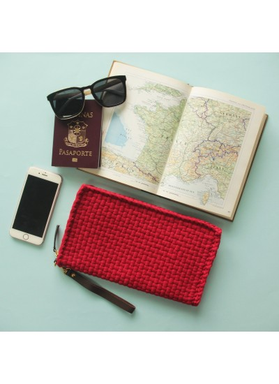Matt Travel Red